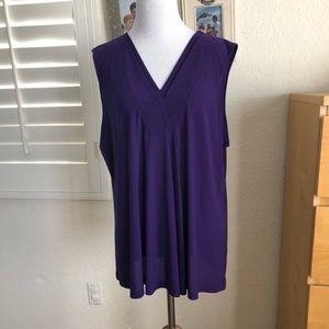 Beautiful purple blouse